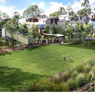 This house and land package in the burgeoning Springfield area in western Brisbane is a great opportunity for young investors.